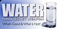 Water: Your Secret Weapon