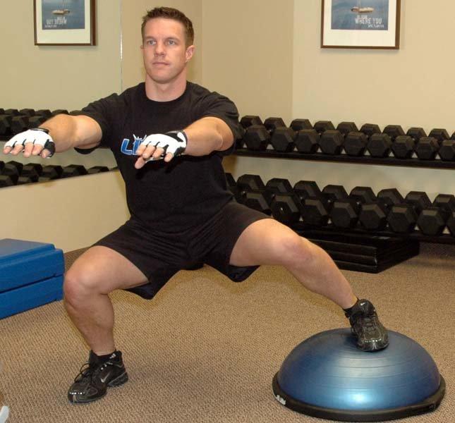 Bosu Ball Side Hops: Coaching Points: BOSU Ball Training For Improved Hockey