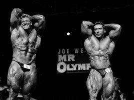Günter Schlierkamp & Claude Grouix At The 1998 Olympia.