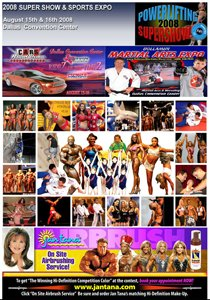 2008 15th Annual Sports Weekend & Europa IFBB Super Show
