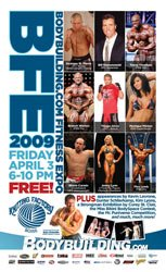 2009 Bodybuilding.com Fitness Expo.