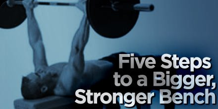 5 Steps To A Bigger Stronger Bench!