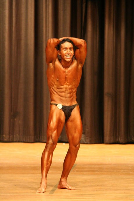 Amateur bodybuilding contests