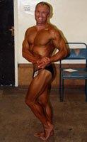 Over 40 Amateur, Barry Thomas, Age 61.