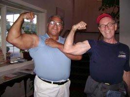 Bob & Harold At The 2007 WBBG Hall Of Fame.