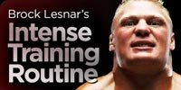 Brock Lesnar's Intense Training Routine!