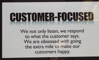 Customer-Focused.