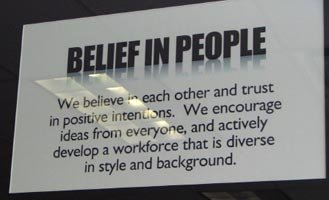 Belief In People.