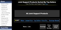 Joint Support Products Sorted By Top Sellers