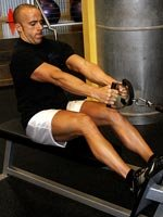 Seated Cable Rows Stretch