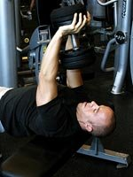 Dumbell Pullover Stretch