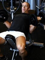 Incline Dumbell Stretch