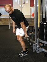 One Arm Cable Lateral Stretch