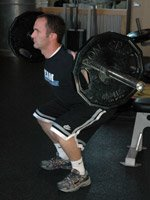 During A Squat Your Body Needs To Stabilize Itself More Than During Curls.