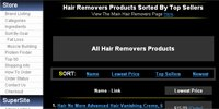 Hair Removal Products Sorted By Top Sellers