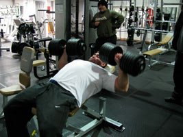 We Want The Big Weights And The Big Guys Training In Our Gym.
