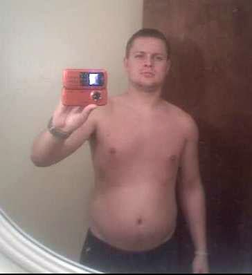 fat guy before and after steroids