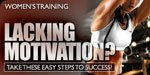 Women's Training: Lacking Motivation?