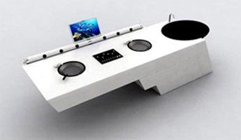 The Taste DJ kitchen Table