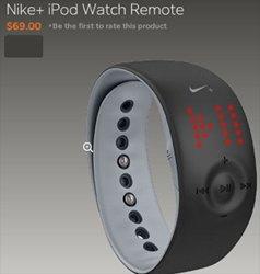 Nike + iPod Watch Remote