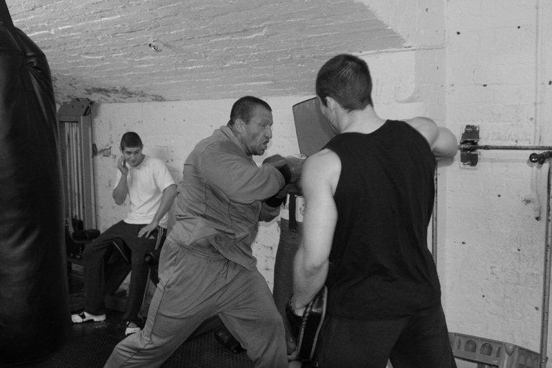 Dorian Yates Son Dorian yates training with his