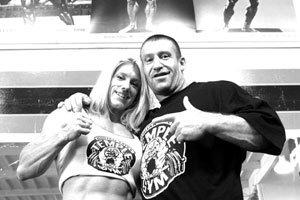 Dorian Yates And Marika Johansson