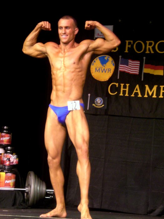 Bodybuilding.com - Military Amateur Bodybuilder Of The Month - Andy Spruill.