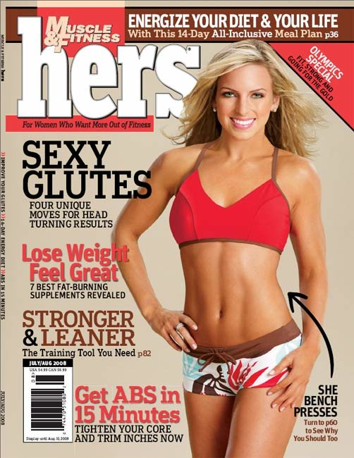 This issue showcases women and the bench press, building sexy glutes, ...