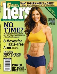 Muscle & Fitness Hers November/December 2008