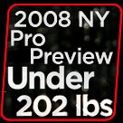 2008 New York Pro Men's Preview: A Fight For Top 6!