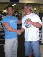 Bob Bohnam With John Cena.