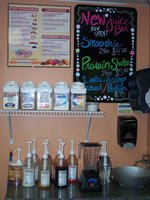 We Even Offer A New Juice Bar Serving Top Quality Protein Shakes.