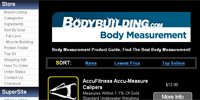 Body Measurement Main Page