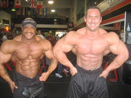 Will Harris & Joe Tong At Gold's Gym.