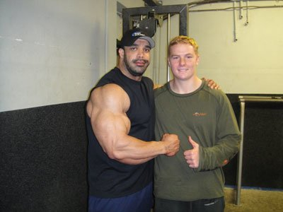 Author Adam Gethin, With Zack Khan Seen Here At 275 Lbs On His Last Day Of Depleting From Carbs.