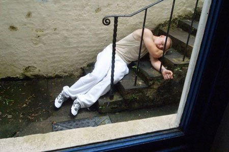 Maybe It Was The Thought Of Walking Down The Steps Where I Once Lay After The Most Grueling Workout I Ever Faced.