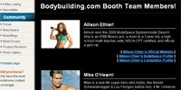 Bodybuilding.com Olympia Booth