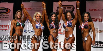2009 NPC Border States Classic XXX Bodybuilding, Fitness & Figure Championships