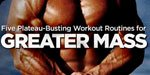 5 Plateau-Busting Workout Routines!