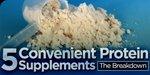 5 Convenient Protein Supplements