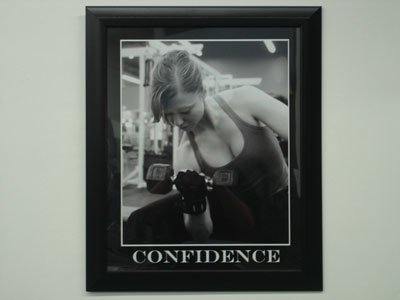 We Take Motivational Pictures Of Our Members Training And Display Them Throughout The Facility.