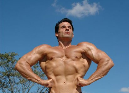 Anthony Also Displays His Body As A Competitive Natural Bodybuilder.