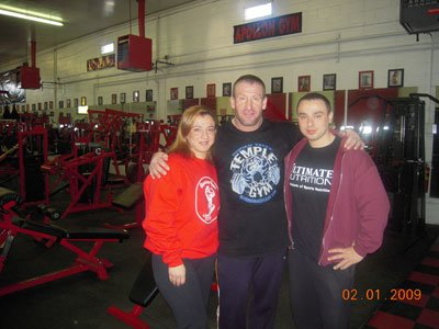 Dorian Yates Trains His Clients At Apollon When He Is In The United States.