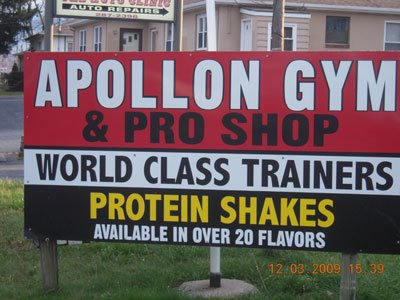 Apollon Gym Is Famous For Its Protein Shake Bar That Offers Over 40 Different Flavors.