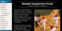 Baseball Supplement Guide
