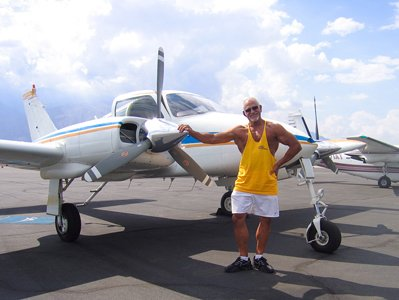 It Was No Surprise When Oldsuperman Bodyspace Member Ed Cook Flew On In By Private Plane For Our Photo Shoot!