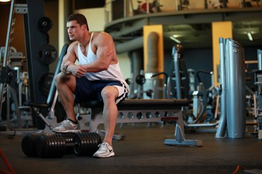 It's A Shame To See Gym Goers Pound Away At The Weights Because Of The Wrong Reasons.