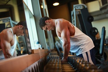 People Find Their Only Sense Of Power In The Gym.