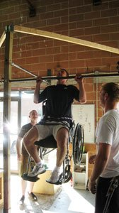 Another Is Wheelchair Pull-Ups.