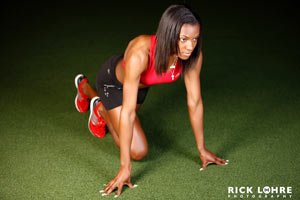 Weight Training Is Important For Sprinters.